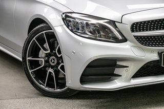 2020 Mercedes-Benz C-Class S205 800+050MY C200 Estate 9G-Tronic Iridium Silver 9 Speed.