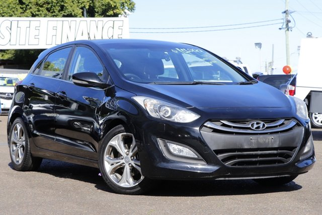Used Hyundai i30 GD Premium Moorooka, 2012 Hyundai i30 GD Premium Black 6 Speed Sports Automatic Hatchback