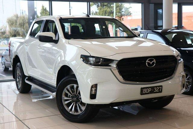 Demo Mazda BT-50 TFS40J XT South Melbourne, 2020 Mazda BT-50 TFS40J XT Ice White 6 Speed Manual Utility