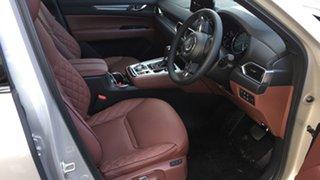 2021 Mazda CX-8 KG2W2A Asaki SKYACTIV-Drive FWD Platinum Quartz 6 Speed Sports Automatic Wagon