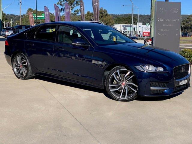 Used Jaguar XF X260 MY17 R-Sport West Gosford, 2016 Jaguar XF X260 MY17 R-Sport Blue 8 Speed Sports Automatic Sedan