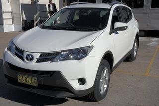 2013 Toyota RAV4 ZSA42R GX 2WD White 6 Speed Manual Wagon.