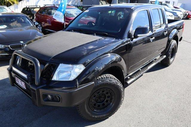Used Nissan Navara D40 S7 ST Moorooka, 2014 Nissan Navara D40 S7 ST Black 6 Speed Manual Utility