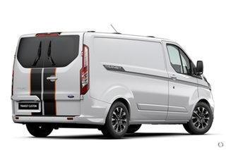 2020 Ford Transit Custom VN 2021.25MY 320S (Low Roof) Sport White 6 Speed Automatic Van