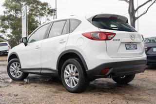 2015 Mazda CX-5 KE1072 Maxx SKYACTIV-Drive Sport White 6 Speed Sports Automatic Wagon.