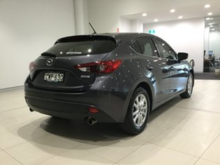 2014 Mazda 3 BM5478 Maxx SKYACTIV-Drive Meteor Grey/bm 6 Speed Sports Automatic Hatchback.