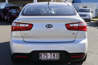 2013 Kia Rio UB MY13 SI Bright Silver 6 Speed Sports Automatic Sedan