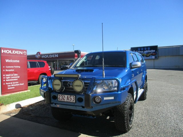 Used Toyota Hilux KUN26R MY14 SR5 Double Cab North Rockhampton, 2015 Toyota Hilux KUN26R MY14 SR5 Double Cab Blue 5 Speed Manual Utility