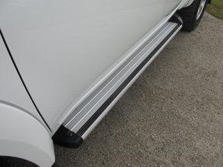 2013 Mitsubishi Triton MN MY14 GLX Double Cab White 5 Speed Manual Utility