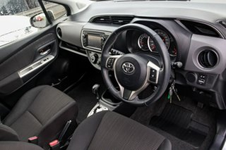 2014 Toyota Yaris NCP131R SX Silver 4 Speed Automatic Hatchback