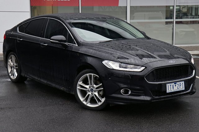 Pre-Owned Ford Mondeo MD 2017.00MY Titanium South Morang, 2017 Ford Mondeo MD 2017.00MY Titanium Black 6 Speed Sports Automatic Hatchback