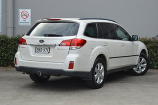 2009 Subaru Outback B5A MY10 2.5i Lineartronic AWD Premium White 6 Speed Constant Variable Wagon