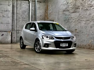 2017 Holden Barina TM MY17 LS Silver 6 Speed Automatic Hatchback.