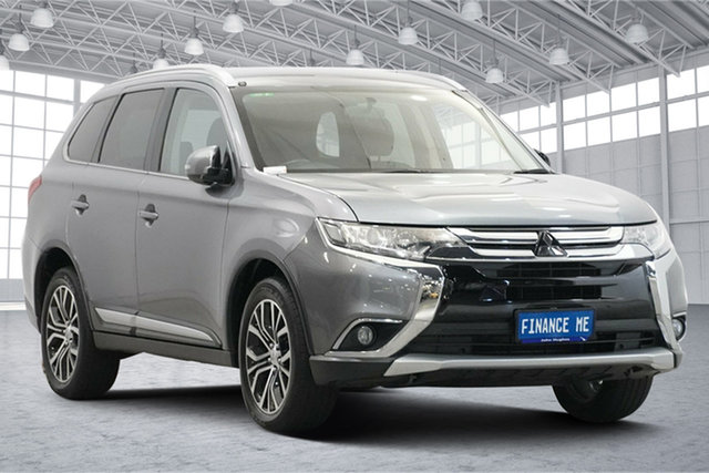 Used Mitsubishi Outlander ZK MY17 LS 4WD Victoria Park, 2016 Mitsubishi Outlander ZK MY17 LS 4WD Silver 6 Speed Constant Variable Wagon