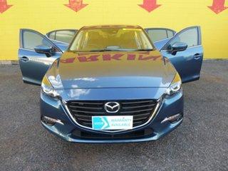 2018 Mazda 3 BN5276 Maxx SKYACTIV-MT Sport Blue 6 Speed Manual Sedan.
