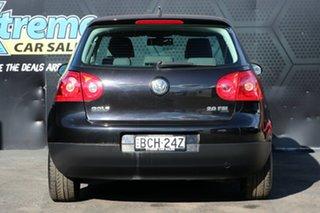 2007 Volkswagen Golf V MY07 Comfortline Tiptronic Black 6 Speed Sports Automatic Hatchback