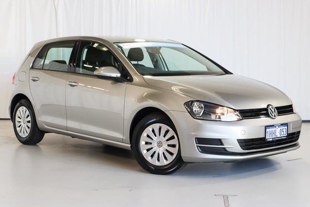 Used Volkswagen Golf VII MY14 90TSI DSG Wangara, 2014 Volkswagen Golf VII MY14 90TSI DSG Silver 7 Speed Sports Automatic Dual Clutch Hatchback