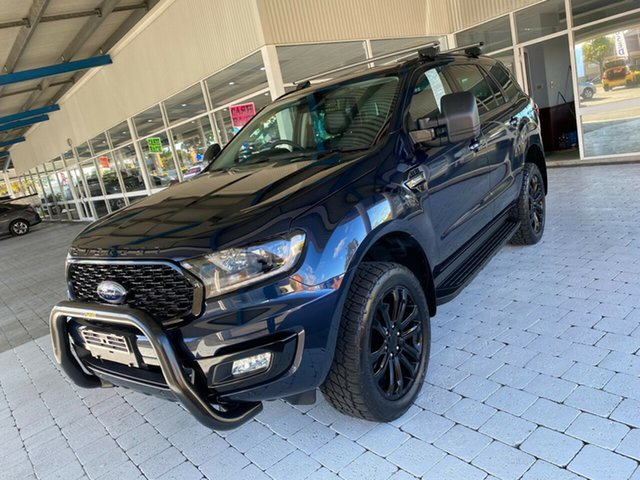 Used Ford Everest Sport Taree, 2020 Ford Everest Sport Blue Sports Automatic SUV
