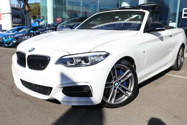 Used BMW M240i F23 M240I Brookvale, 2020 BMW M240i F23 M240I Alpine White 8 Speed Automatic Convertible