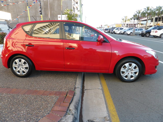 Used Hyundai i30 FD MY09 SX Southport, 2009 Hyundai i30 FD MY09 SX Active Red 4 Speed Automatic Hatchback