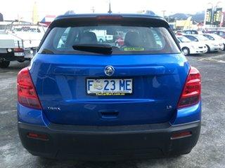 2016 Holden Trax TJ MY16 LS Boracay Blue 6 Speed Automatic Wagon