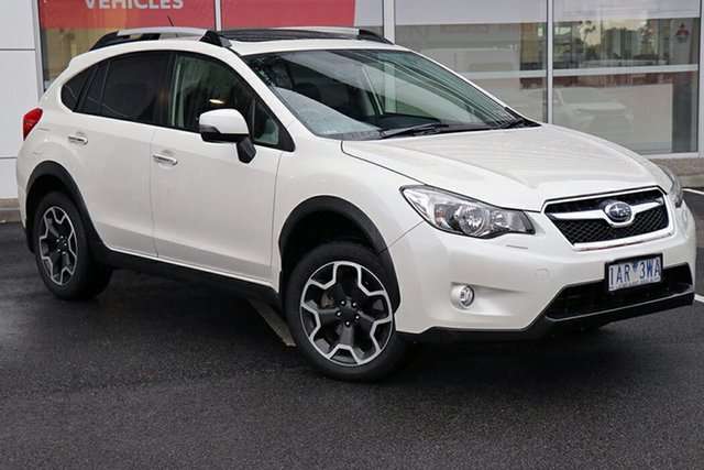 Pre-Owned Subaru XV G4X MY13 2.0i-S Lineartronic AWD South Morang, 2013 Subaru XV G4X MY13 2.0i-S Lineartronic AWD Pearl White 6 Speed Constant Variable Wagon