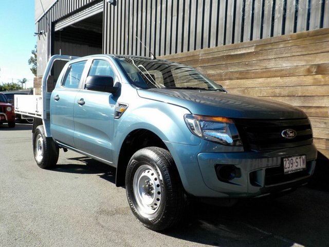 Used Ford Ranger PX XL Hi-Rider Labrador, 2012 Ford Ranger PX XL Hi-Rider Grey 6 Speed Sports Automatic Cab Chassis