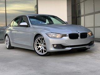 2013 BMW 3 Series F30 MY0813 320i Silver 8 Speed Sports Automatic Sedan.