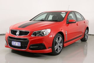 2014 Holden Commodore VF SS Red 6 Speed Automatic Sedan.