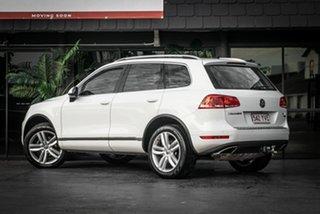 2013 Volkswagen Touareg 7P MY13 150TDI Tiptronic 4MOTION White 8 Speed Sports Automatic Wagon.