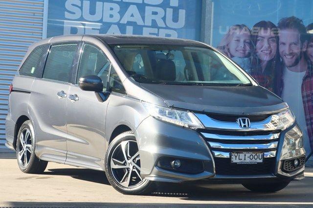 Used Honda Odyssey RC MY16 VTi-L Rosebery, 2016 Honda Odyssey RC MY16 VTi-L Grey Continuous Variable Wagon