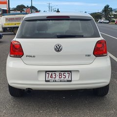 2013 Volkswagen Polo 6R MY13.5 77TSI DSG Comfortline White 7 Speed Sports Automatic Dual Clutch