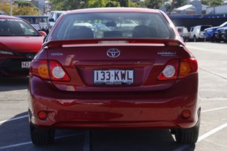 2008 Toyota Corolla ZRE152R Conquest Wildfire 4 Speed Automatic Sedan