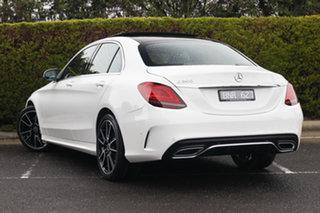 2020 Mercedes-Benz C-Class W205 800+050MY C200 9G-Tronic Polar White 9 Speed Sports Automatic Sedan.