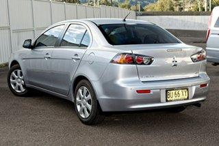 2013 Mitsubishi Lancer CJ MY13 ES Silver 5 Speed Manual Sedan.