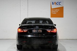 2012 Hyundai i45 YF MY11 Premium Black 6 Speed Sports Automatic Sedan