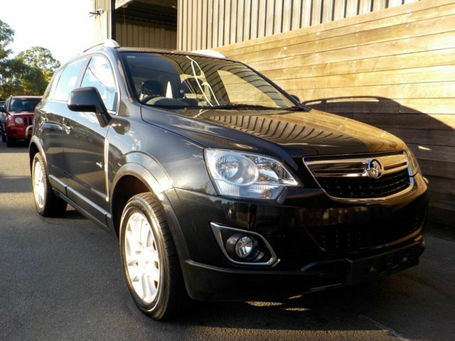 Used Holden Captiva CG Series II MY12 5 Labrador, 2012 Holden Captiva CG Series II MY12 5 Black 6 Speed Manual Wagon
