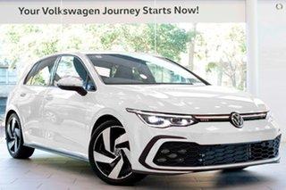2021 Volkswagen Golf 8 MY21 GTI DSG White 7 Speed Sports Automatic Dual Clutch Hatchback.