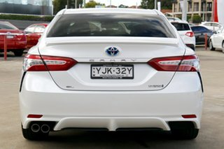 2019 Toyota Camry AXVH71R Hybrid Frosted White 6 Speed Constant Variable Sedan