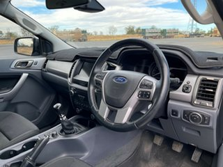 2018 Ford Ranger PX MkII 2018.00MY XLT Double Cab Black 6 Speed Manual Utility