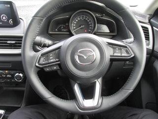 2019 Mazda 3 BN MY18 Maxx Sport (5Yr) White 6 Speed Automatic Sedan