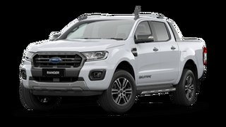 2021 Ford Ranger PX MkIII 2021.25MY Wildtrak Arctic White 6 Speed Sports Automatic
