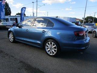 2015 Volkswagen Jetta 1B MY16 118TSI DSG Comfortline Blue 7 Speed Sports Automatic Dual Clutch Sedan.