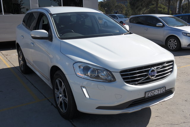 Used Volvo XC60 DZ MY14 D4 Geartronic Kinetic Maryville, 2014 Volvo XC60 DZ MY14 D4 Geartronic Kinetic White 8 Speed Sports Automatic Wagon