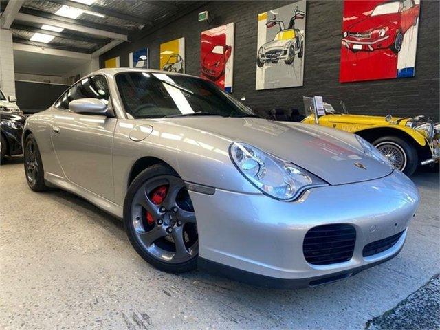 Used Porsche 911 996 Carrera Glebe, 2004 Porsche 911 996 Carrera 4S Silver 5 Speed Sports Automatic Coupe