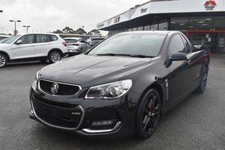 2016 Holden Ute VF II MY16 SS V Ute Redline Black 6 Speed Manual Utility.