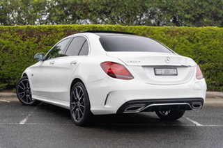 2020 Mercedes-Benz C-Class W205 800+050MY C300 9G-Tronic e Polar White 9 Speed Sports Automatic.