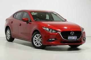 2017 Mazda 3 BN MY17 Neo Soul Red 6 Speed Automatic Sedan.