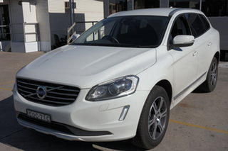 2014 Volvo XC60 DZ MY14 D4 Geartronic Kinetic White 8 Speed Sports Automatic Wagon.