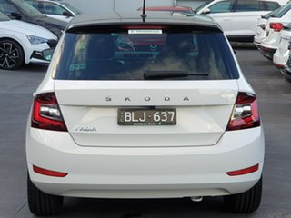 2021 Skoda Fabia NJ MY21 81TSI DSG Run-Out Edition White 7 Speed Sports Automatic Dual Clutch